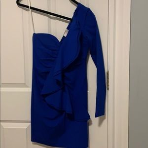 Parker Blue Mini Dress - Size XS